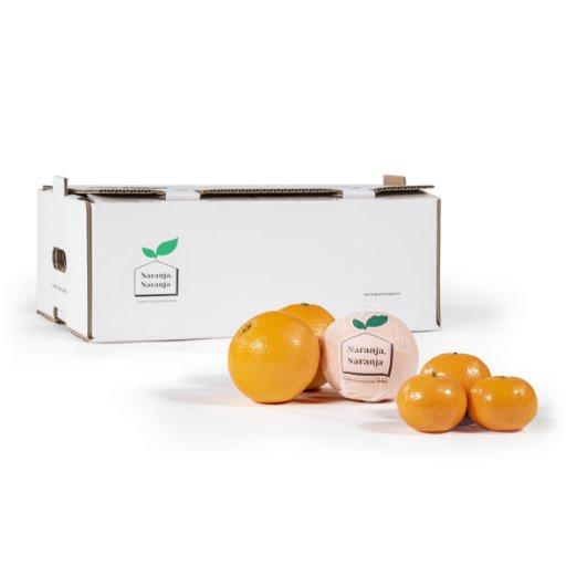 mandarina 7 con producto fuera